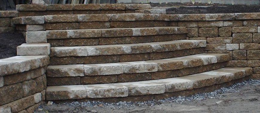 Celtic steps (curved)