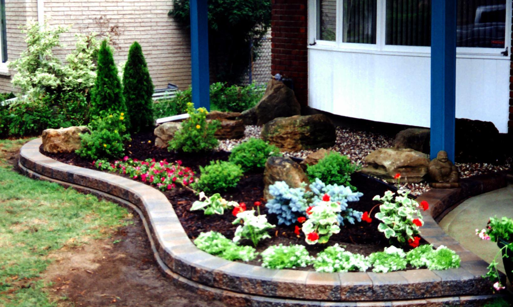 Gardenstone raised bed